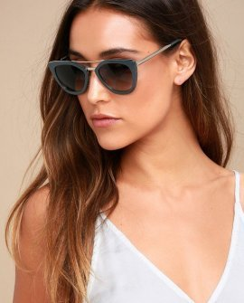 Power 81 Silver and Grey Sunglasses