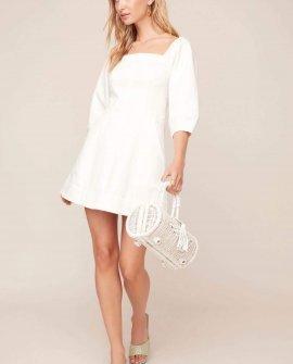 Rabia Puff Sleeve Mini Dress