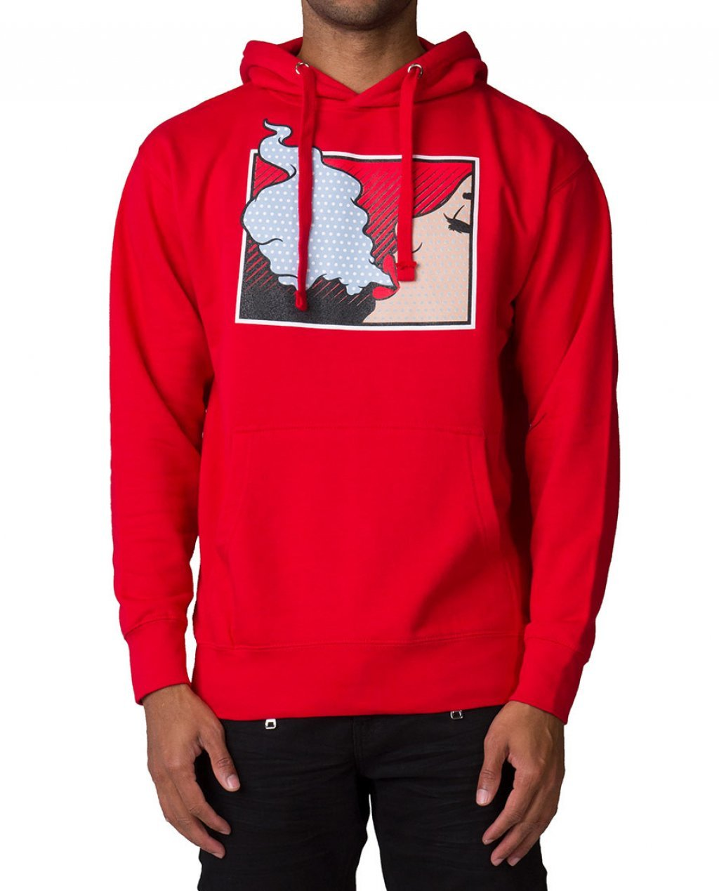 Red Wild Thot Outrank Hoodie