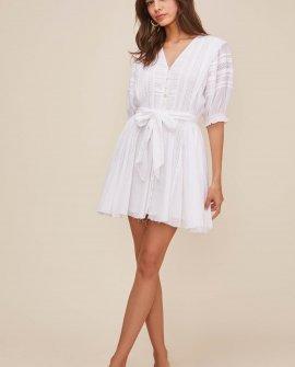 Remendy Puff Sleeve Dress