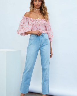 Rider By Lee Dad Jeans Bright Side Blue