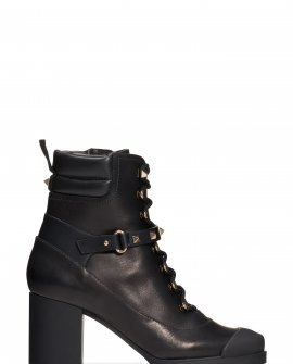 Rockstud Lace-Up Boot