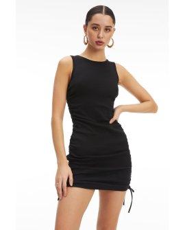 Ruched Tank Mini Dress