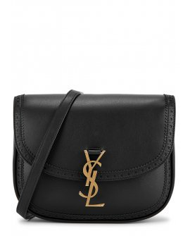 Saint Laurent Kaia black leather cross-body bag