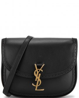 Saint Laurent Kaia black leather cross-body bag