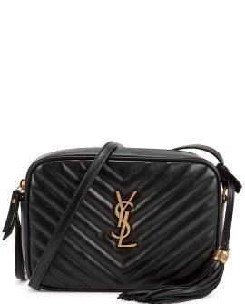 Saint Laurent Lou black leather cross-body bag