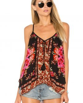 Scarf Print Swing Cami