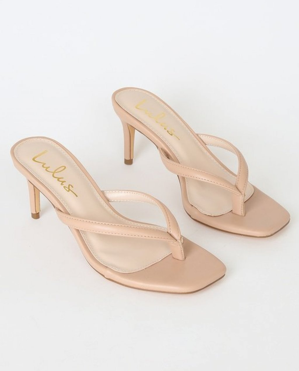 Scottie Nude High Heel Sandal Heels