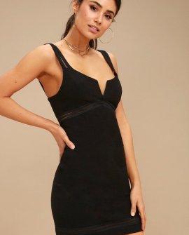 Simply Be Black Bodycon Dress
