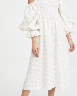 Sleeper Atlanta Linen Dress