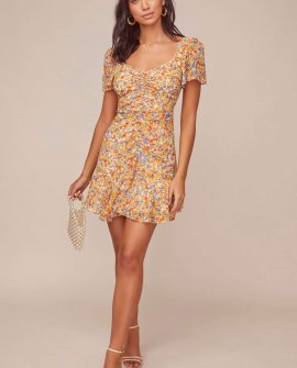 So Smitten Floral Mini Dress