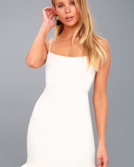 Spoonful of Sass White Bodycon Mini Dress