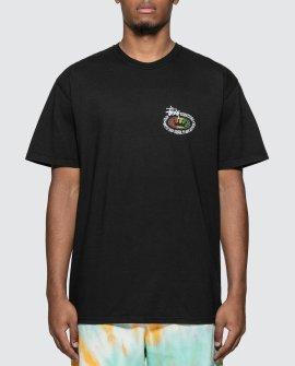 Stussy Rasta Oval Pigment Dyed T-Shirt