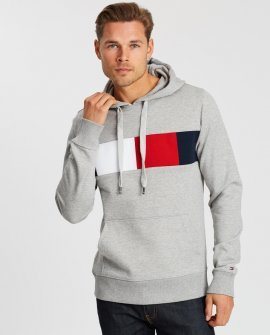Tommy Hilfiger Flag Chest Hoodie