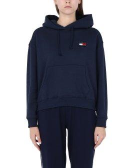 TJW Tommy Badge Hood Hooded sweatshirt