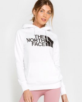 The North Face Half Dome Womens White Hoodie