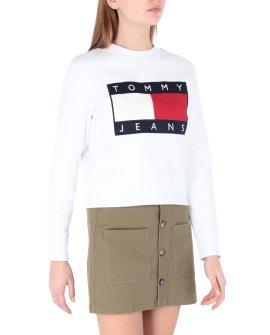 Tommy Jeans TJW Tommy Flag Crew Neck Sweatshirt