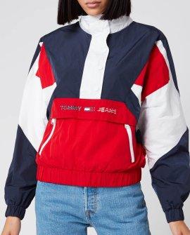 Tommy Jeans Women's Colourblock Logo Popover