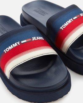 Tommy Jeans Women's Degrade Flatform Pool Slide Sandals