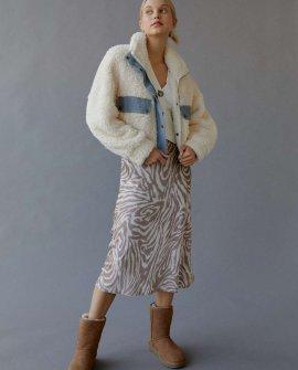 UO Laura Cozy Sherpa Jacket