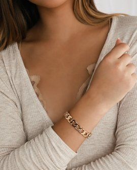 Unbeatable Gold Chain Bracelet