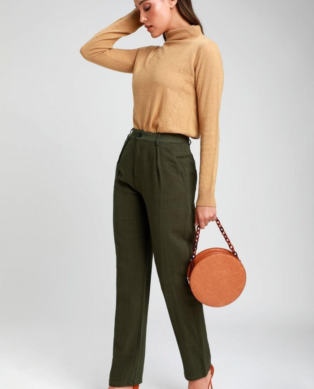 Upside Olive Green Pants