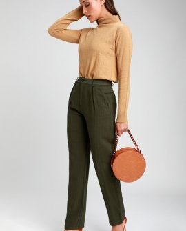 Upside Olive Green Pants