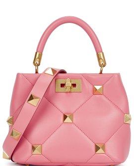 Valentino Garavani Roman Stud leather top handle bag