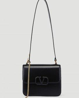 Valentino Vsling Shoulder Bag in Black