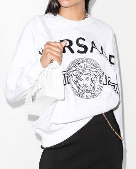 Versace Medusa head logo sweatshirt