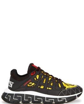 Versace Trigreca baroque-print sneakers