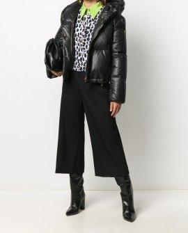 Versace signature-motif padded jacket