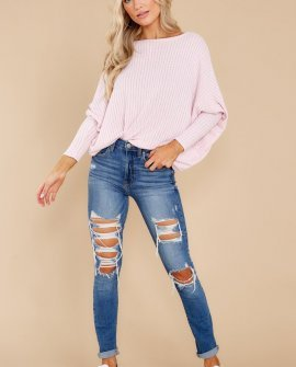 What You've Said Light Lilac Top