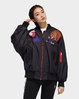 Women's Adidas Originals CNY Patch Bomber Jacket