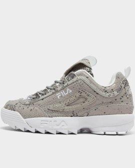 Women's Fila Disruptor 2 Snake Print Casual Shoes