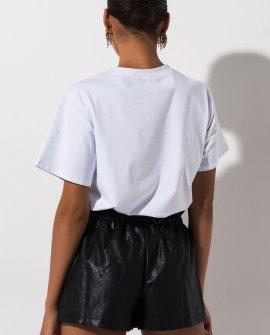 Lucia Pleather Shorts