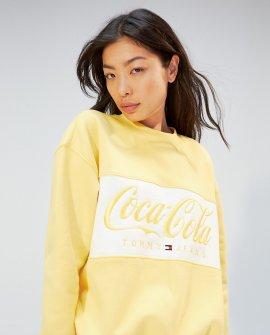 Tommy Hilfiger women's sweatshirt Coca Cola