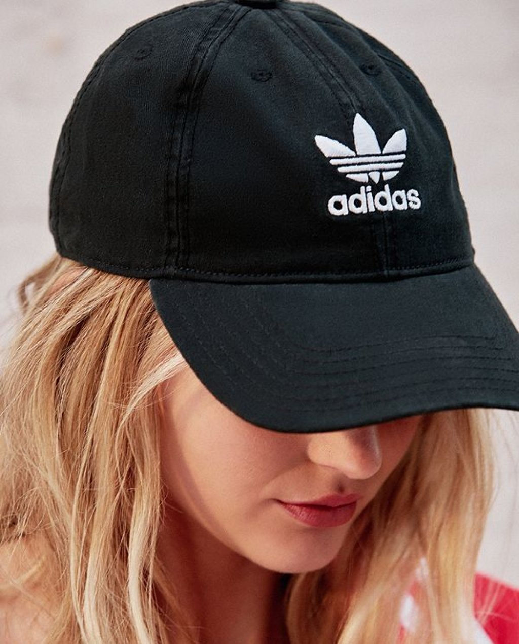 adidas Originals Relaxed Strapback Baseball Hat a6e2e214475
