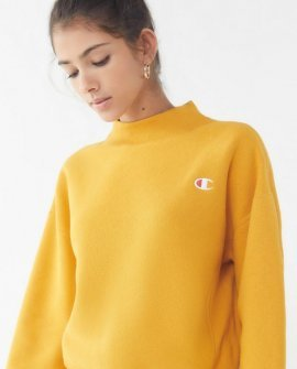 Champion Reverse Weave Mock-Neck Sweatshirt
