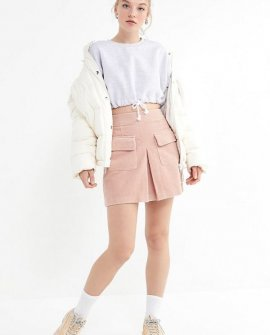 BDG Corduroy Utility Pocket Mini Skirt