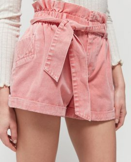 BDG Cleo High-Waisted Paperbag Short