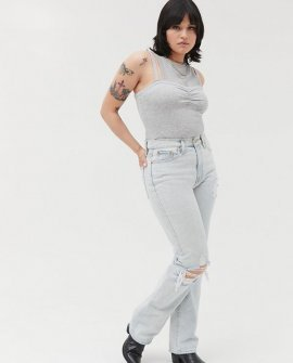 BDG High-Waisted Bootcut Jean – Destroyed Light
