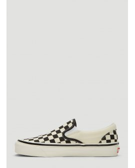Vans Anaheim Factory Classic Slip-On 98 Sneakers in White